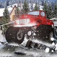 Play Heavy Wheels On Snow