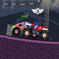 Play Monsters Wheels Game