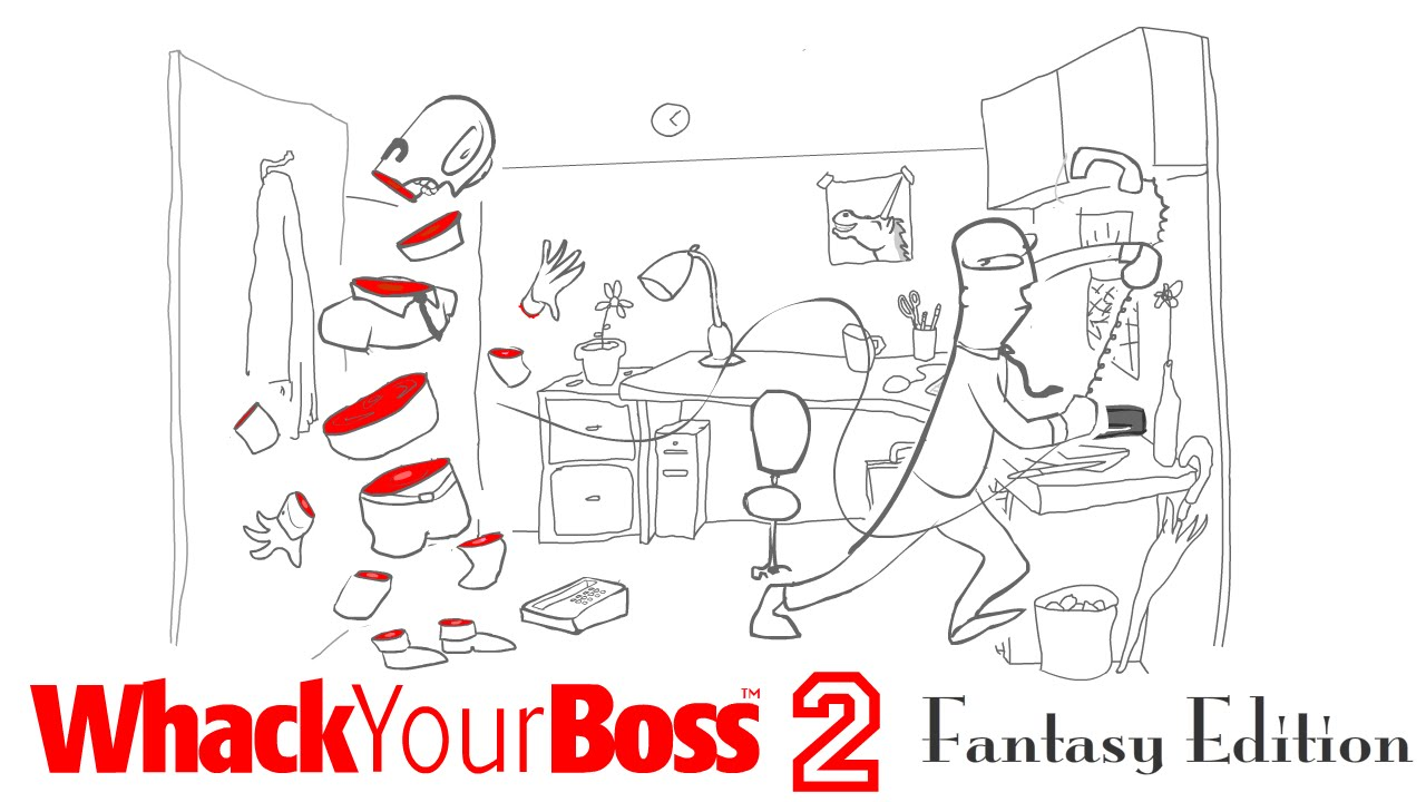 Play Whack Your Boss 2: Fantasy Edition
