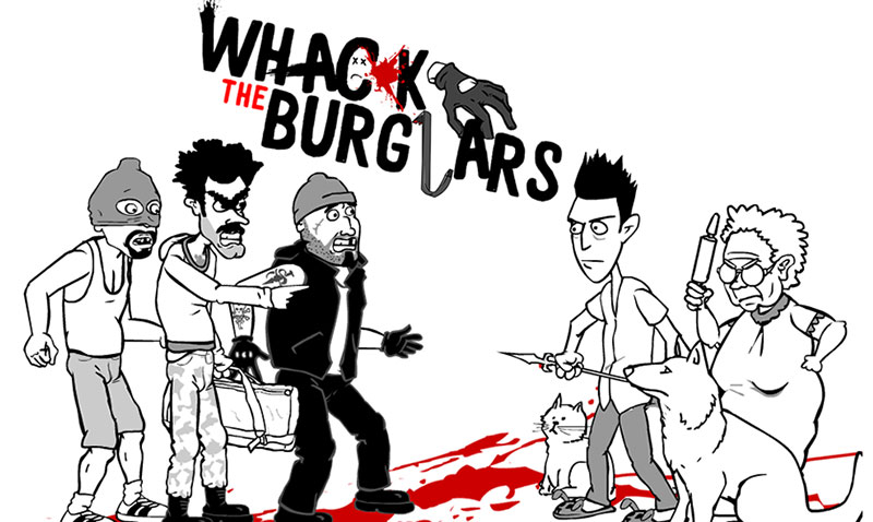 Play Whack The Burglars